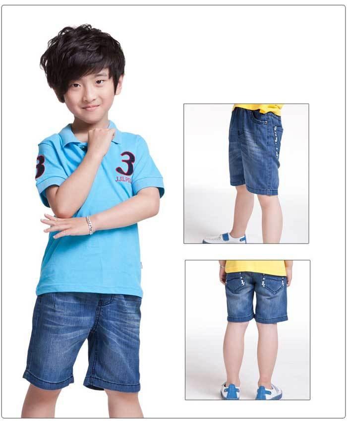 Boy jean shorts