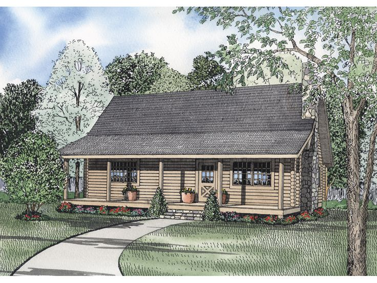 Lodge point acadian cottage cabins pinterest for Acadian cottage house plans