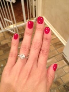 Gel nails DIY. One thing I would change is the type of gel, my