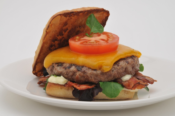 Bacon Cheddar Burger!!!! | Food | Pinterest