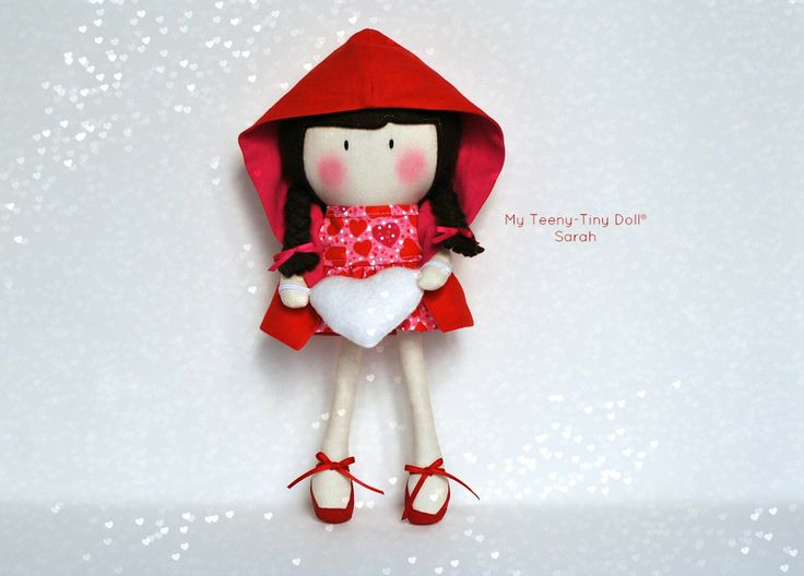 "Мой Тини-Крошечный Кукла ® Сара / 11 ""Handmade Fashion Doll Кука вас Некоторые Лапша ®"