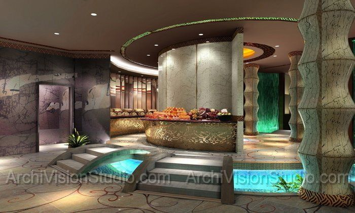Spa Decorating Ideas Pleasing Of Spa Lobby Design Ideas Photos