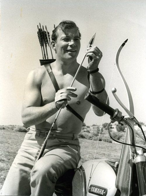 Today that william shatner was one of the early members of fred bear