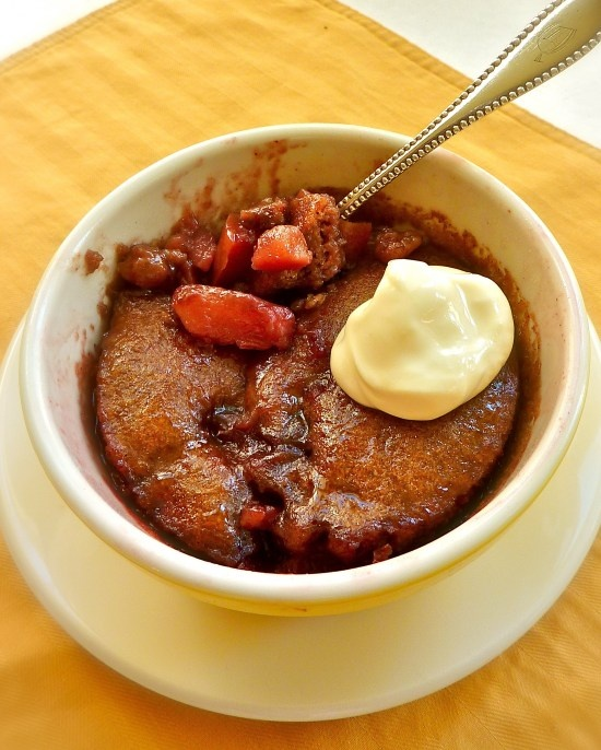 Vegan Cranberry-Apple/Pear Pudding Cake | Tasty Treats | Pinterest
