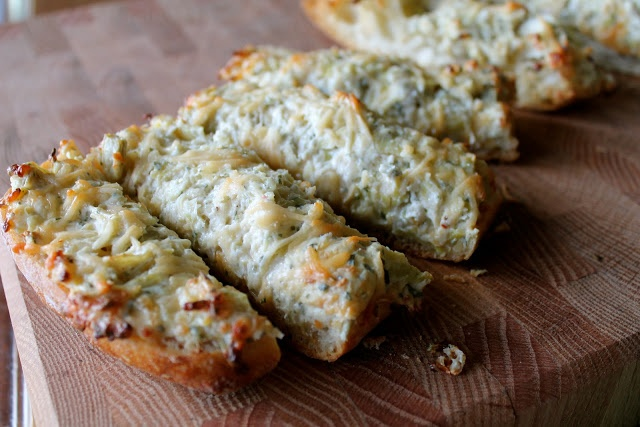 Easy Artichoke Bread | Recetas favoritas | Pinterest