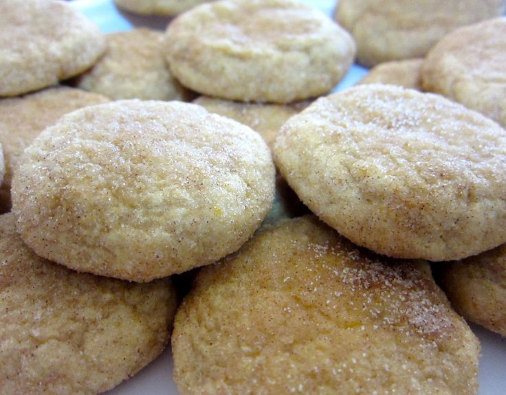 Pumpkin Snickerdoodles | Cookies, Brownies and Bars, Oh My! | Pintere ...