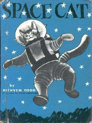 Vintage Space Cat