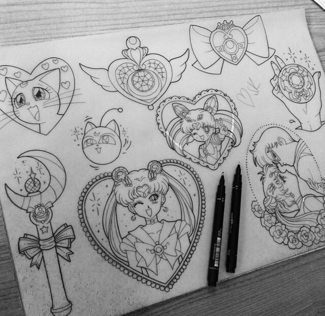Sailor Moon – Tattoo Picture At CheckoutMyInkcom | Tattoos ...