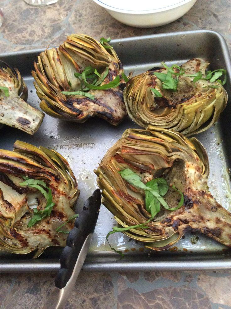 Grilled Artichokes Recipes — Dishmaps