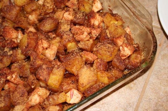 Sweet Potato and Apple Casserole | Recipes | Pinterest