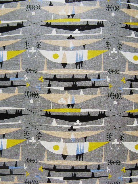 50s fabric / Odile Gova