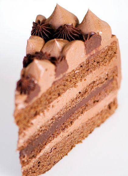 Chocolate Espresso Fudge Cake | cakes | Pinterest