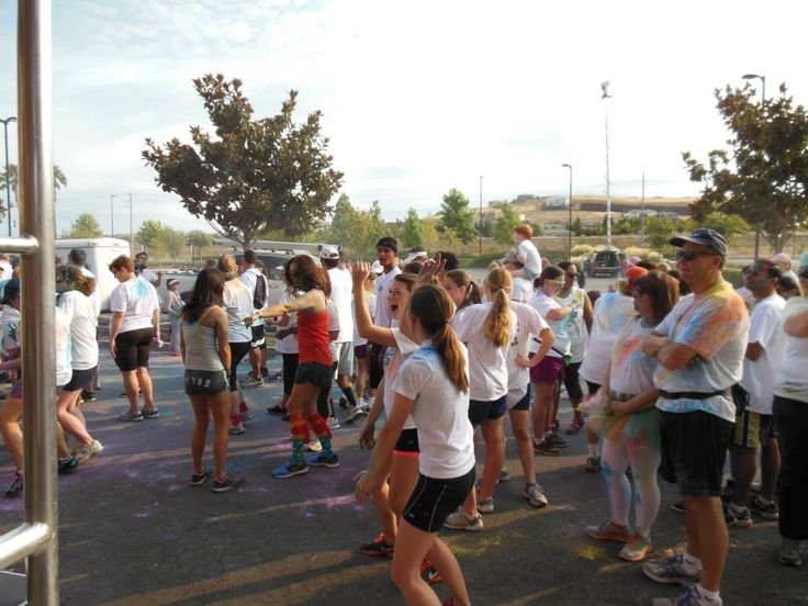 The Color Run @Whole Foods Market Folsom , CA