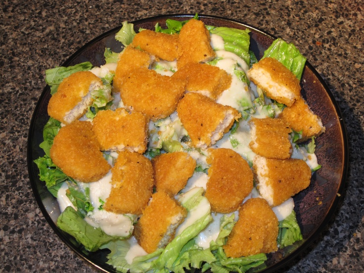My homemade chicken caesar salads | I kiss better than I cook | Pinte ...