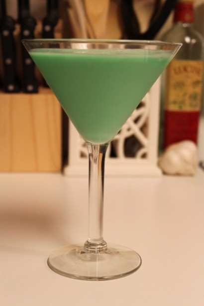 Grasshopper - the first cocktail I ever made (when I was like, ten ...