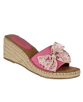 Life Stride Shoes, Ray Wedge Sandals
