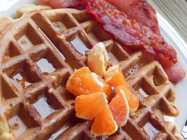 ... sweet potato pie leftovers using this new paleo sweet potato waffles