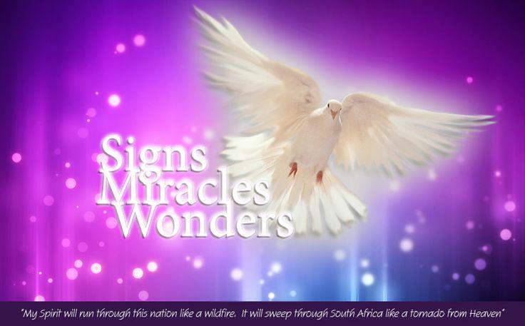 Signs And Wonders Scriptures
