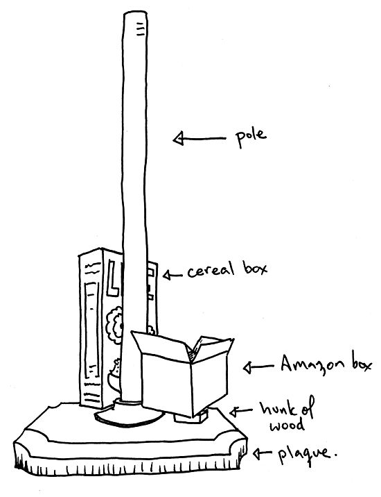 how tall is a flagpole in meters