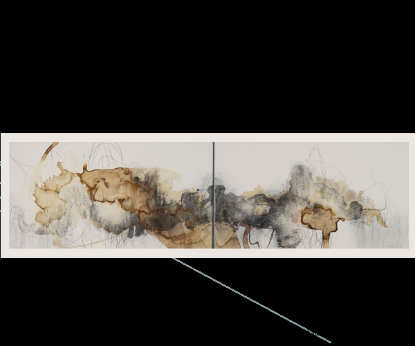 Diptych by Carly Dergins | red dots | Pinterest: pinterest.com/pin/61924563596251043