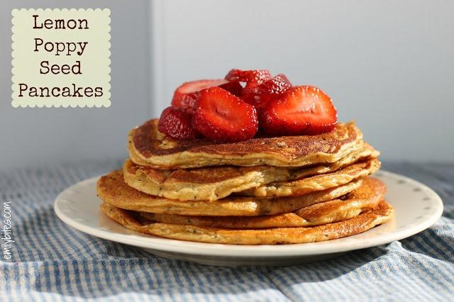 poppy seed pancakes yogurt pancake recipe two peas their lemon poppy ...