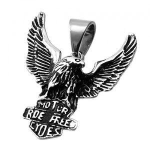 Stainless Steel Eagle Pendant