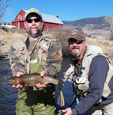 spring creek livingston fishing in southwest montana