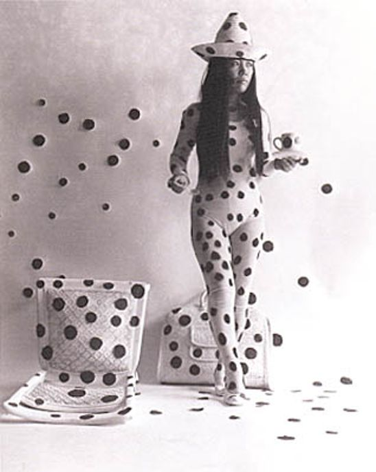 """Every time I have had a problem, I have confronted it with the ax of art."" Yayoi Kusama"