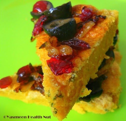 ... Nut: Chickpeas Polenta(Panisse) with Olives and Sun dried Tomatoes