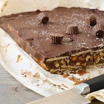 Chocolate Caramel Peanut Bars | Brownies and Bars | Pinterest