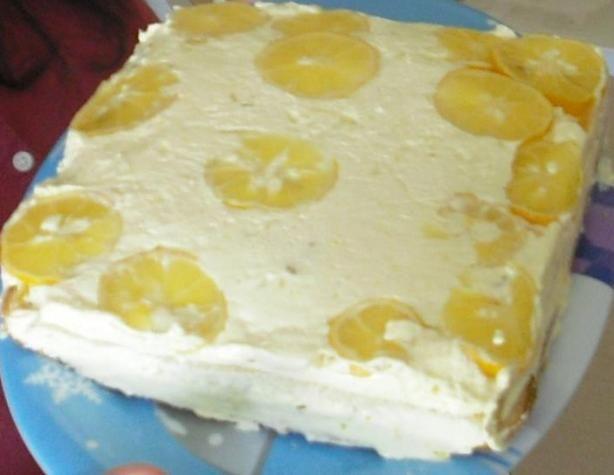 Lemon Mousse Cake. Photo by cassiedeaf20