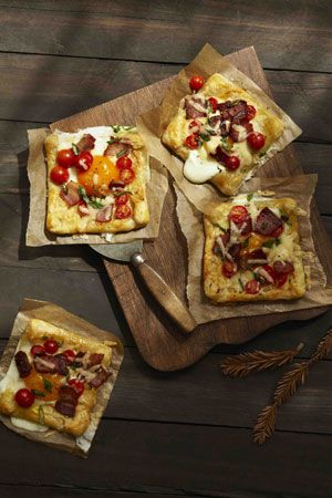 Bacon and Egg Breakfast Tart. Just 1 more reason to wake up in the ...
