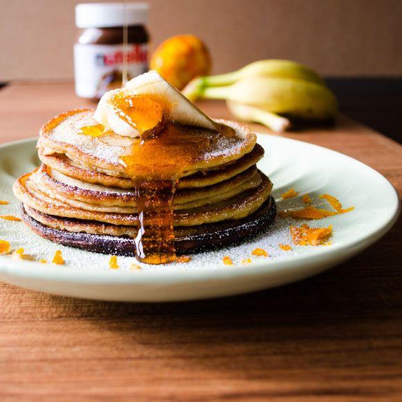 banana pancakes   giverecipe.com   #banana #pancake #dessert