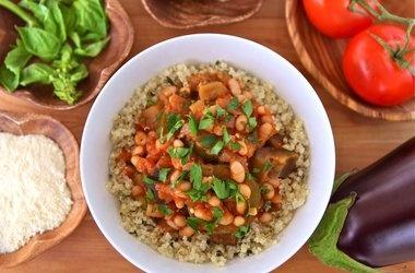 Italian Vegetable Quinoa Bowls | Quinoa Recipes | Pinterest