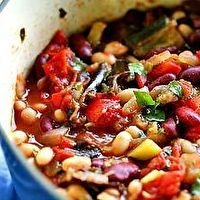 spicy vegetarian chili | Food! | Pinterest