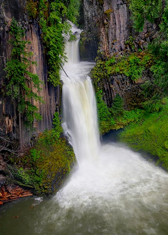Toketee Falls ~ Douglas County, Oregon
