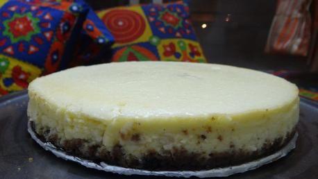 Baked lemon-ginger cheesecake | Recipe