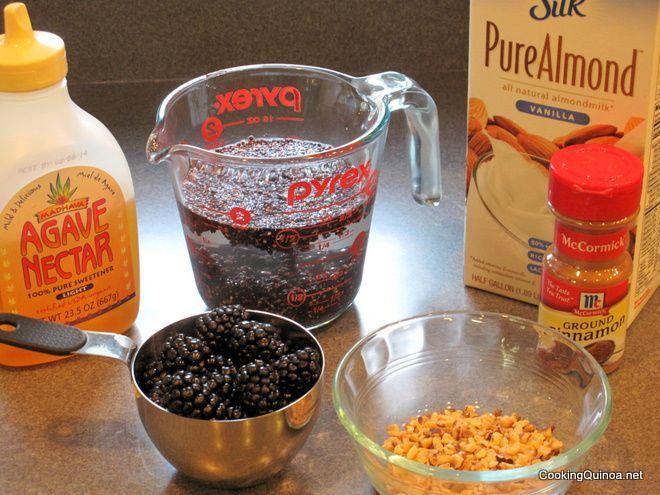 Nutty Cinnamon Quinoa Breakfast Recipe