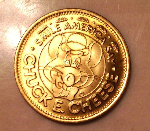 Chuck E Cheese Coin Prices Bitcoin Time Travel