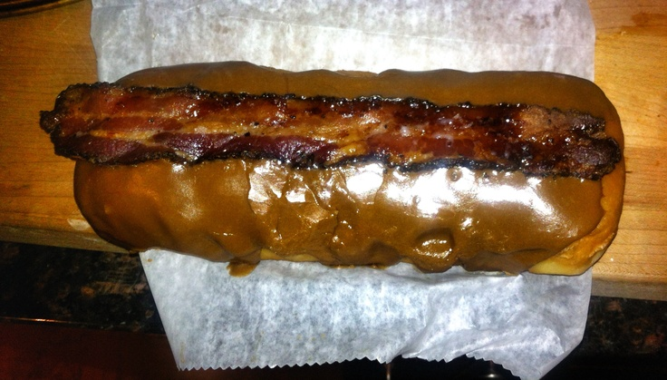 Maple bacon long John from Glazed and Infused in Chicago. Not just a ...