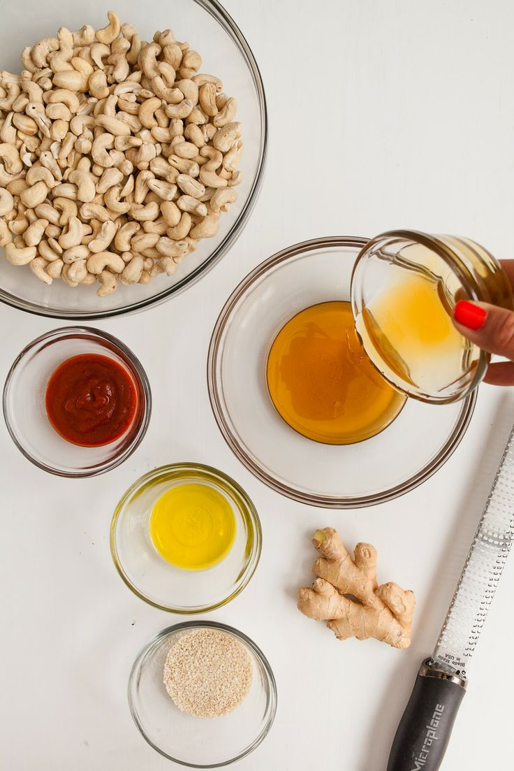 Honey and Sriracha Roasted Cashews--I want to try this with Almonds ...