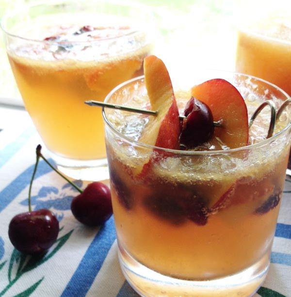 Sangria Recipe: Stone Fruits and Ginger Sangria