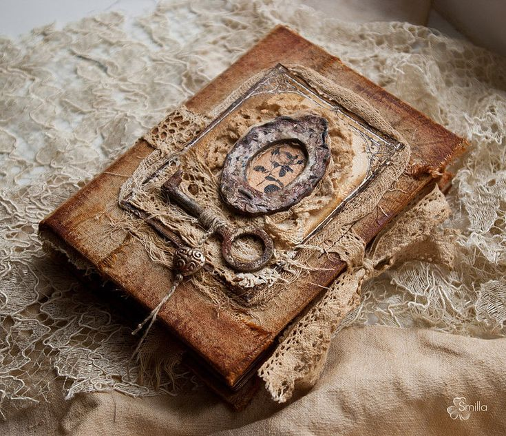 Книги под старину своими руками