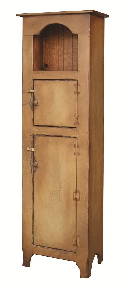 Primitive Furniture Kitchen Hutch Pantry Cupboard