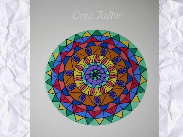 Pin by crea taller on cuadros mandalas para decorar - Cuadros mandalas ...
