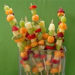 Fruity Fun Skewers | What fruits would you put on your skewer?