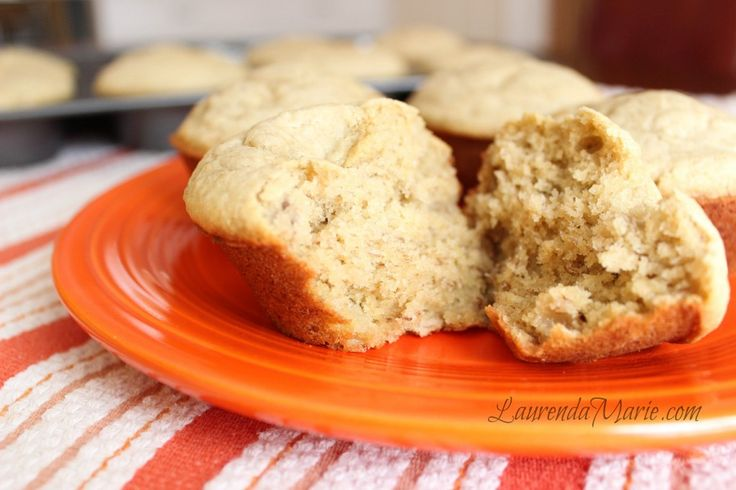 Banana Bread Protein Muffins