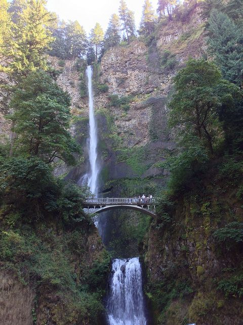 Multnomah falls oregon flickr photo sharing