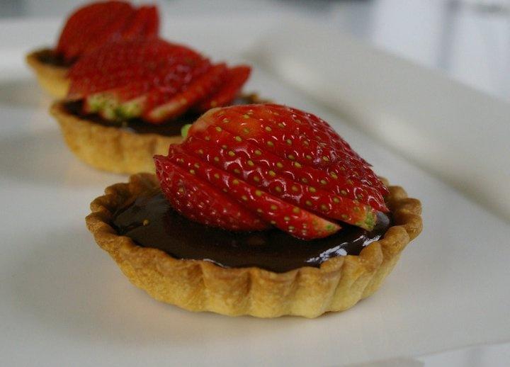 rich chocolate tarts | Food | Pinterest