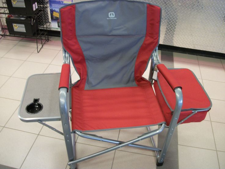 Director Chair W Cooler Attached 87 00 Camping Amp Rv
